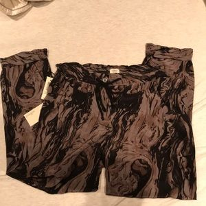 NWT Wilfred washed silk pants